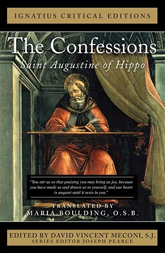 9781586176839: The Confessions: Saint Augustine of Hippo (Ignatius Critical Editions)