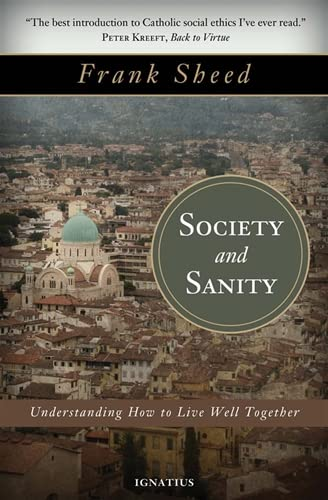 9781586177300: Society and Sanity: Understanding How to Live Well Together