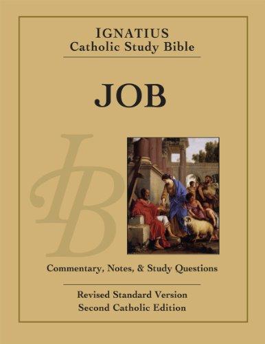 9781586178345: Ignatius Catholic Study Bible - Job