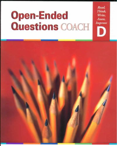 9781586205331: Open-Ended Questions Coach Level D: Read, Think, Write, Assess, Improve