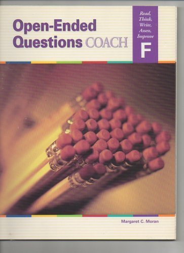 9781586205355: Open Ended Questions Coach Read, Think, Write, Assess, Improve F