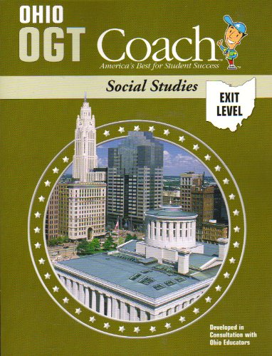 9781586209018: Ohio OGT Coach: Social Studies - Exit Level