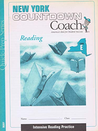 9781586209179: New York Countdown Coach Reading Level E with Teacher's Guide and Answer Key