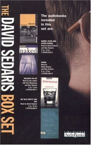 The David Sedaris Box [boxed tape cassettes] Set [Barrel Fever and Other Stories, Naked, Holidays...