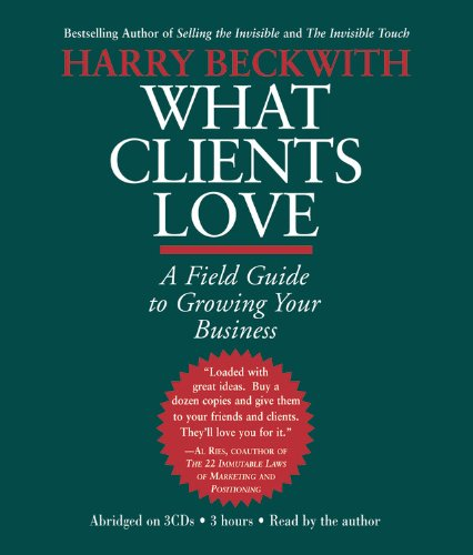 9781586214517: What Clients Love