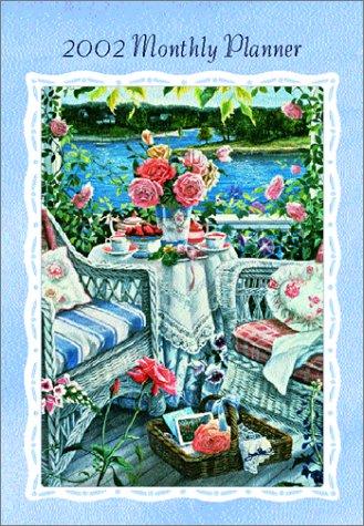 9781586255190: Memorable Afternoon 2002 Monthly Calendar Planner