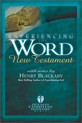 9781586400064: Experiencing the Word New Testament (Holman Christian Standard Bible)
