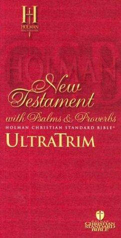 9781586400200: HCSB Ultratrim New Testament With Psalms and Proverbs - Paperback