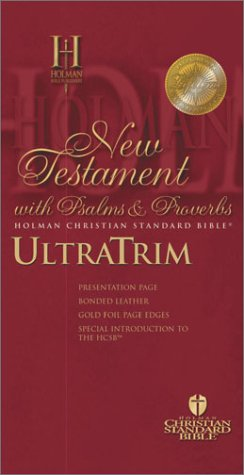 Holman New Testament With Psalms and Proverbs: Burgundy Bonded Leather