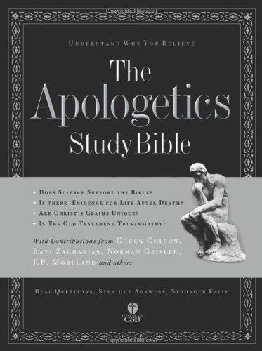 9781586400323: The Apologetics Study Bible (Apologetics Bible) Brown