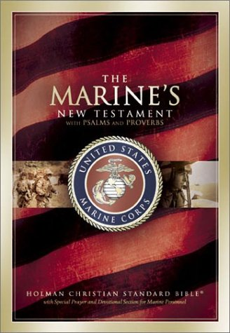 9781586400477: Marine's New Testament, Psalms and Proverbs - Hohman Christian Standard Bible
