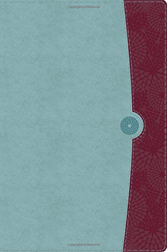 9781586400880: The Study Bible for Women, Sky Blue/Deep Red LeatherTouch