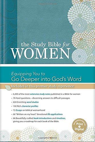 9781586400989: The Study Bible for Women, Hardcover