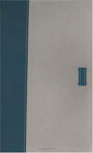 9781586401139: The Holman Ultrathin Bible Classic Edition: Holman Christian Standard,Slide Tab, Blue-gray, Bonded Leather