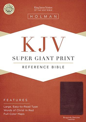 Super Giant Print Reference-KJV