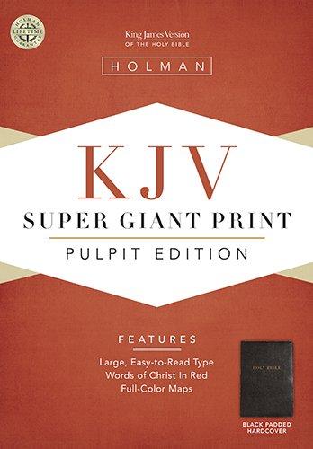 9781586401900: KJV Pulpit Bible, Black Padded Hardcover