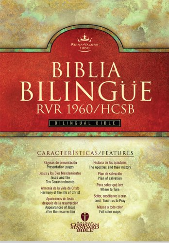 RVR 1960/HCSB Bilingual Bible (Black Imitation Leather - Indexed) (Spanish Edition)