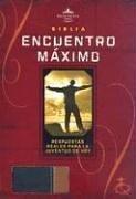 9781586402150: Santa Biblia: Reina Valera 1960, Biblia Encuentro Maximo, Negro/ Cafe Claro (Spanish Edition)