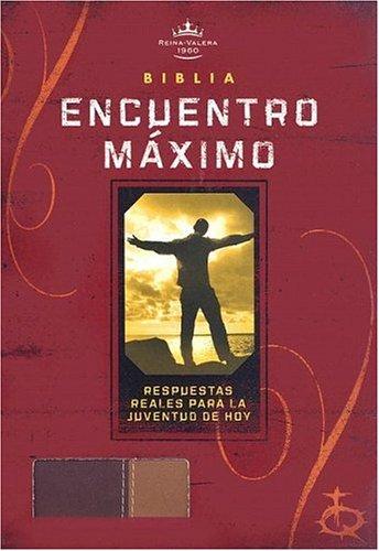 9781586402167: Santa Biblia: Biblica Encuentro Miximo, Rojizo, Cafe Claro (Spanish Edition)