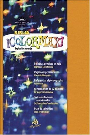 9781586402198: Colormax Juventud Biblia-Reina-Valera 1960 (Rvr 1960 Colormax Youth Bible)