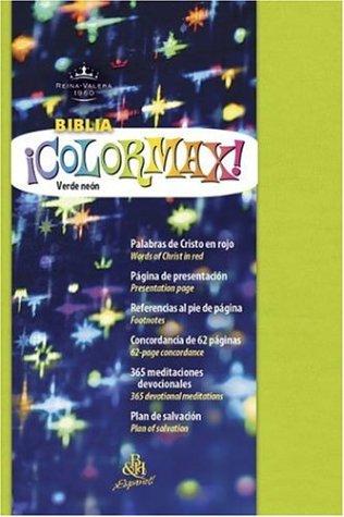 9781586402211: Colormax Juventud Biblia-Reina-Valera 1960 (Rvr 1960 Colormax Youth Bible)