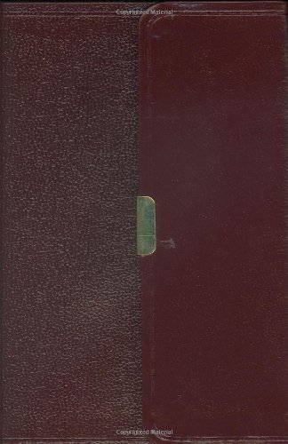 9781586402457: HCSB Large Print Compact Bible, Burgundy Bonded Leather with Magnetic Flap