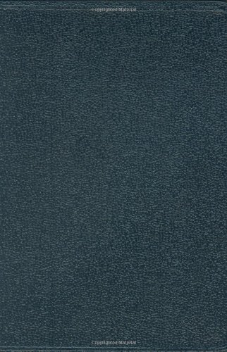 9781586402495: HCSB Large Print Compact Bible, Blue Bonded Leather