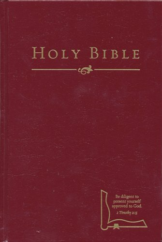 9781586402815: HCSB Drill Bible (Small Edition, Burgundy Hardcover)