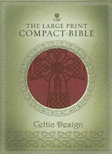 9781586403294: Holy Bible: Holman Christian Standard Bible, Crimson, Simulated Leather, Celtic Design