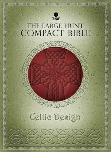 9781586403300: Holy Bible: Holman Christian Standard Bible, Celtic Olive, Personal size