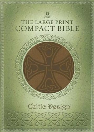 9781586403317: Holy Bible: Holman Christian Standard, Tan, Simulated Leather, Celtic Design, Compact