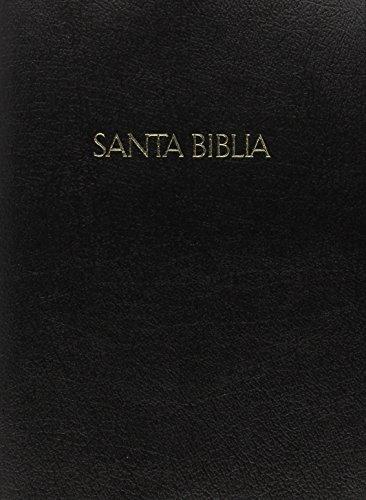 9781586403577: RVR 1960 Biblia Letra Súper Gigante con Referencias, negro piel fabricada (Spanish Edition)