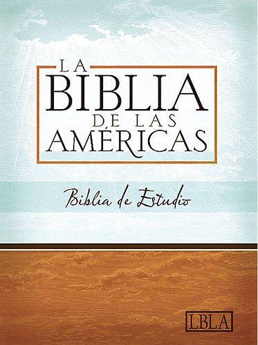 LBLA Biblia de Estudio, tapa dura con índice (Spanish Edition): Holman Bible Editorial Staff