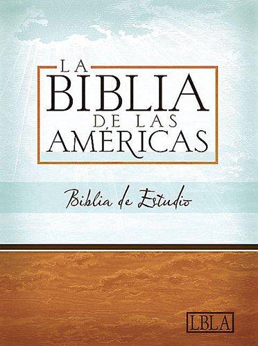 9781586403645: LBLA Biblia de Estudio, negro piel fabricada con índice (Spanish Edition)