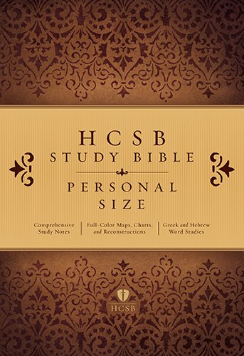 HCSB Study Bible Personal Size, Trade Paper