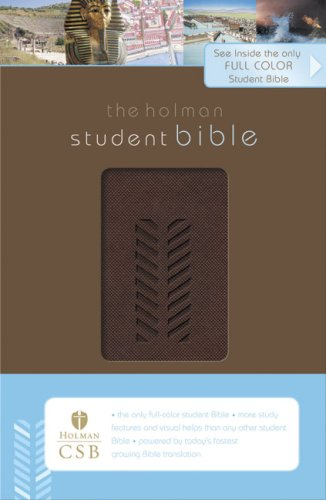 9781586404710: The HCSB Student Bible, Brown
