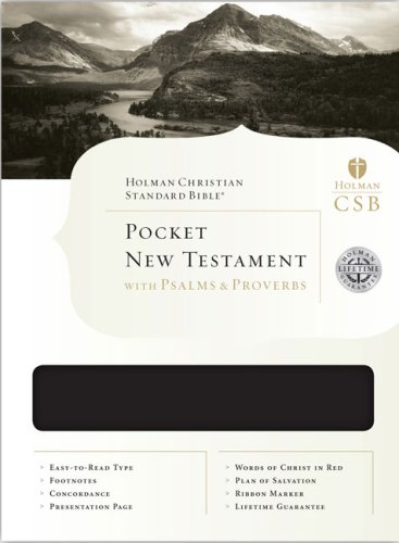 9781586404802: HCSB Pocket New Testament with Psalms and Proverbs