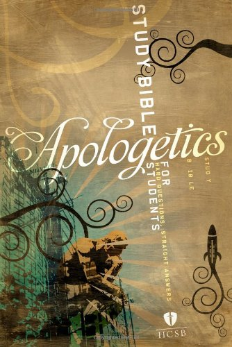 9781586404949: Apologetics Study Bible For Students, Brown/Black/Tan Imitation Leather