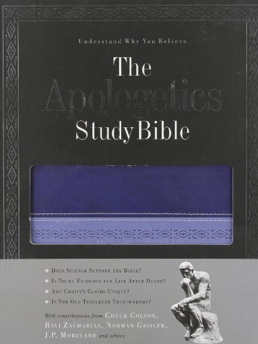 9781586405090: The Apologetics Study Bible (Apologetics Bible)