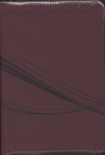 9781586405380: Holman Christian Standard Red Swirl Bible Personal Size Gift Bible