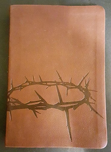 9781586405748: Holman Christian Standard Bible HCSB Personal Size Gift Bible Simulated Leather Brown Crown Of Thorns