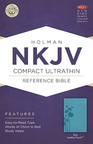 9781586406240: NKJV Compact Ultrathin Bible, Teal LeatherTouch