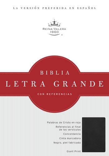 9781586408381: RVR 1960 Biblia Letra Gigante, negro piel fabricada (Spanish Edition)
