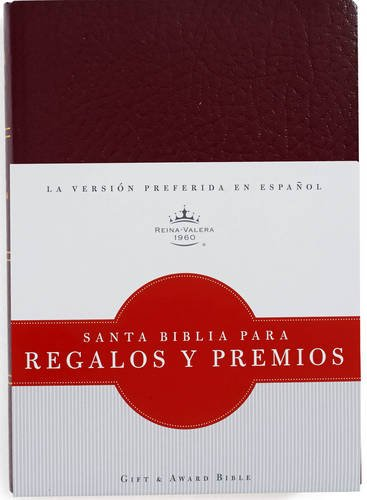 9781586408466: RVR 1960 Biblia para Regalos y Premios, borgoña imitación piel (Spanish Edition)