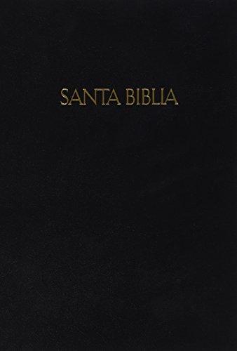9781586409081: RVR 1960 Biblia Letra Grande Tamaño Manual, negro tapa dura (Spanish Edition)