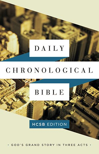 9781586409364: The Daily Chronological Bible: HCSB Edition, Hardcover