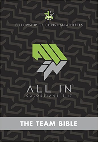 9781586409579: Fellowship of Christian Athletes ALL In: THE Team Bible