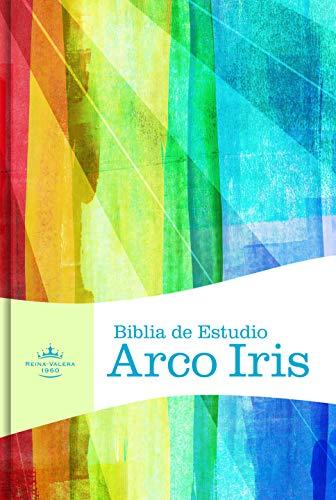 Biblia de Estudio Arco Iris-Rvr 1960 (Hardcover)