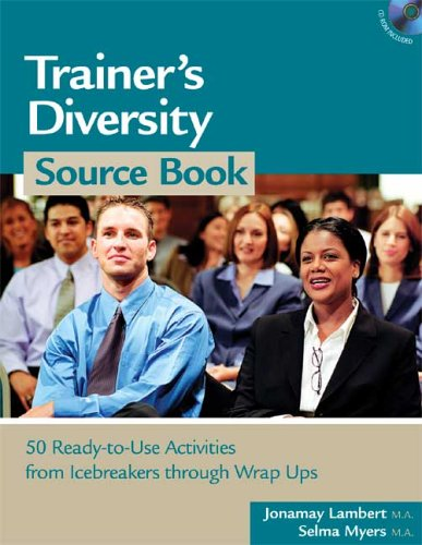 9781586440633: Trainer's Diversity Source Book. Book & CD-ROM (HR Source Book series)