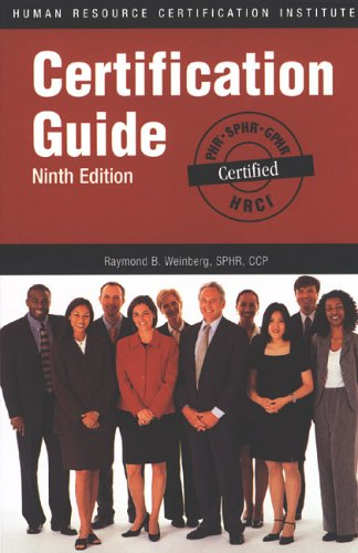 9781586440640: HRCI Certification Guide Ninth Edition